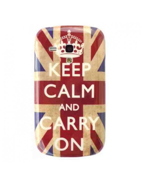 Coque rigide Samsung Galaxy S3 Mini i8190 Angleterre Keep Calm