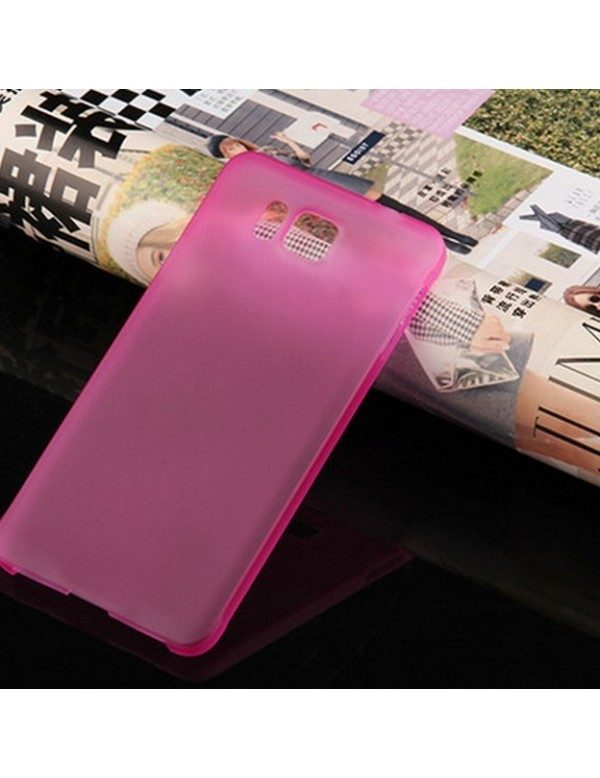 Coque souple Samsung Galaxy Alpha Rose