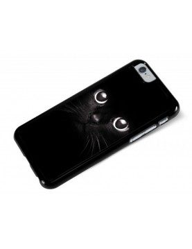 Coque rigide iPhone 6/6S -  Chat noir