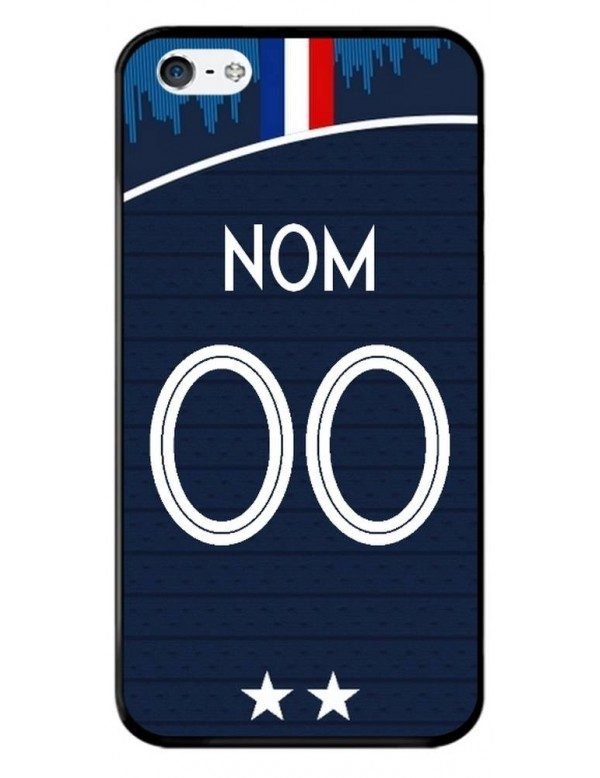 Coque personnalisable iPhone 4/4S - France coupe du monde domicile