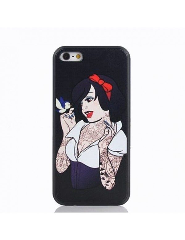 Coque iPhone 5/5S Princess tattoo Blanche neige