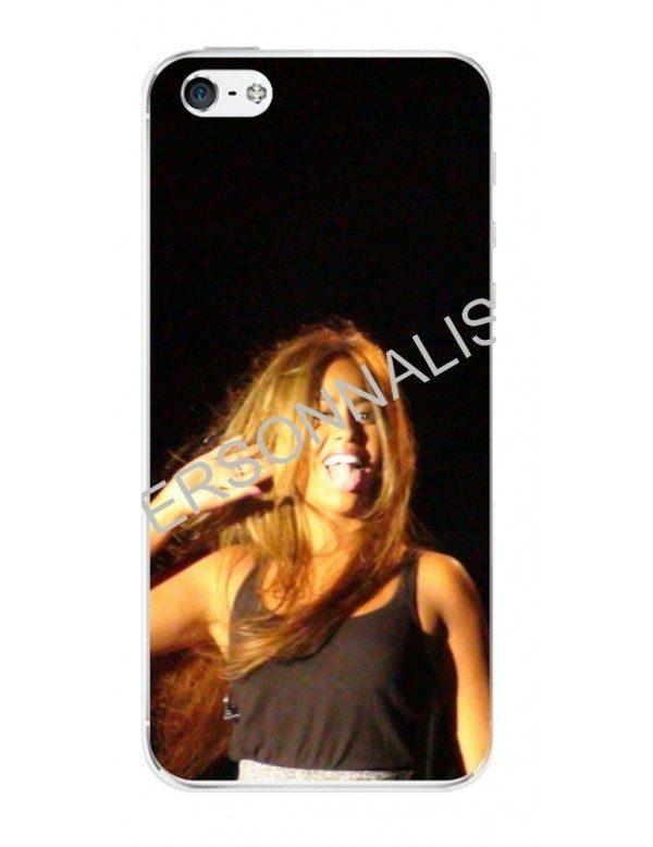 iPhone 5/5S, SE - Coque personnalisable - Contour Souple Transparent