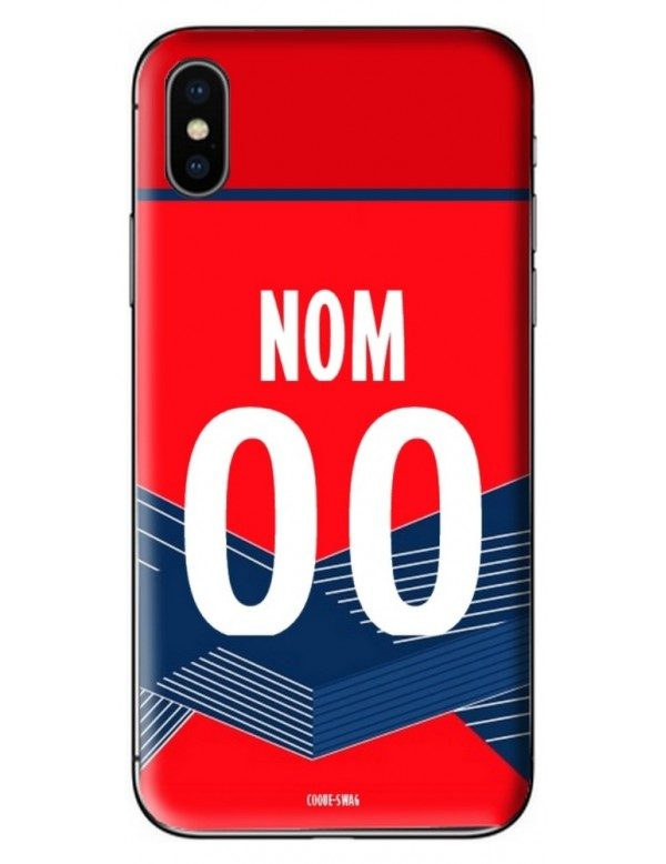COQUE MAILLOT FOOT - LILLE DOMICILE 2020/2021 - PERSONNALISABLE