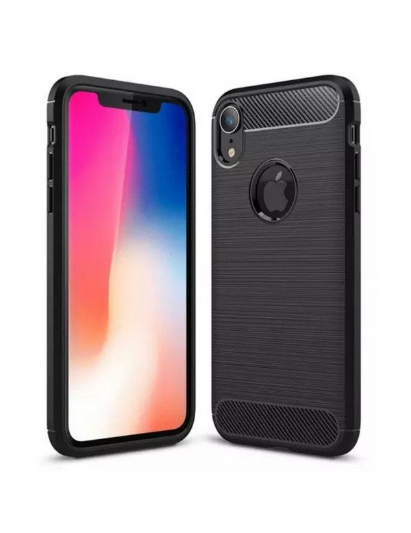 Coque Silicone Carbone Apple iPhone X/XS