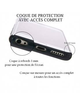 Samsung Galaxy S6 - Coque personnalisable - Souple Blanc