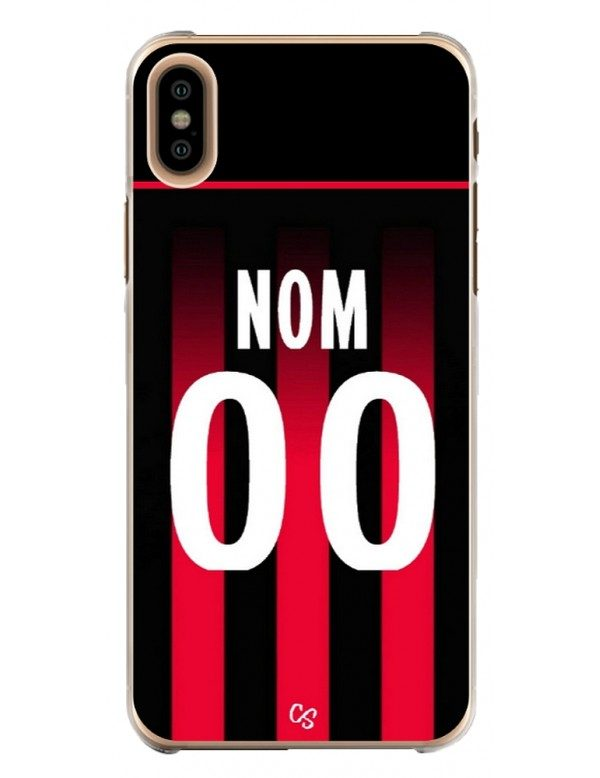 COQUE MAILLOT FOOT - NICE DOMICILE 2020/2021 - PERSONNALISABLE
