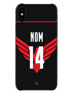 COQUE MAILLOT RUGBY - STADE NIÇOIS DOMICILE 2020 2021 - PERSONNALISABLE