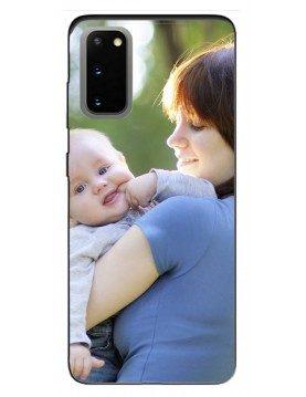 Samsung Galaxy S20 5G - Coque personnalisable - Souple Noir