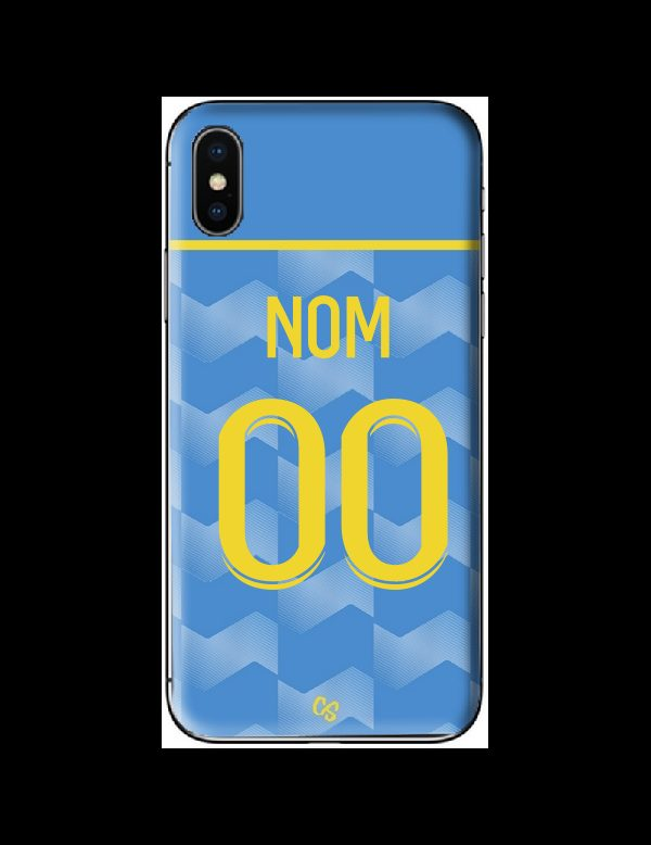 COQUE MAILLOT FOOT - LENS THIRD 2021/2022 - PERSONNALISABLE