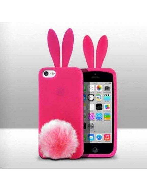 Coque iPhone 4/4S - Elemento par Rabito-Rose