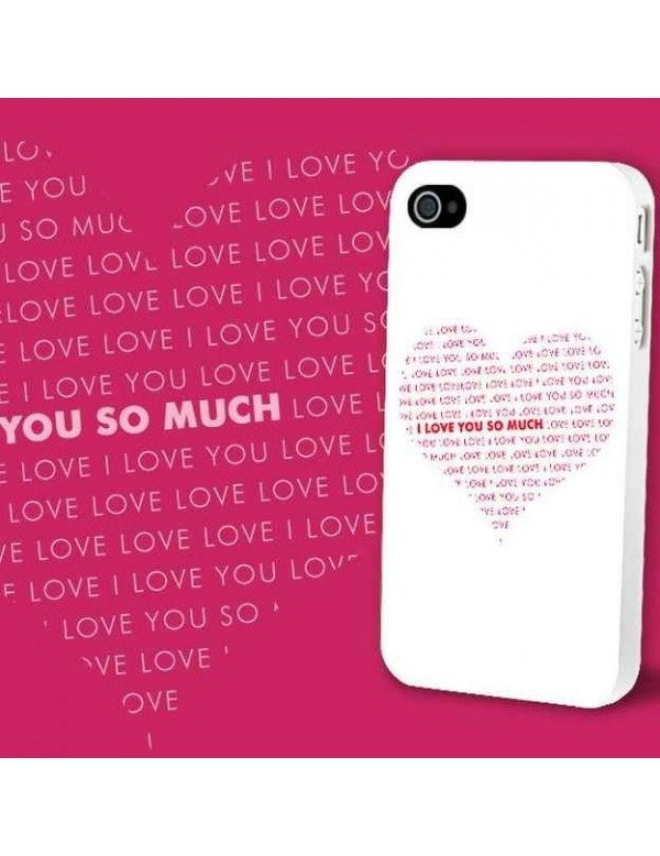 Coque iPhone 4/4S - I love you so much