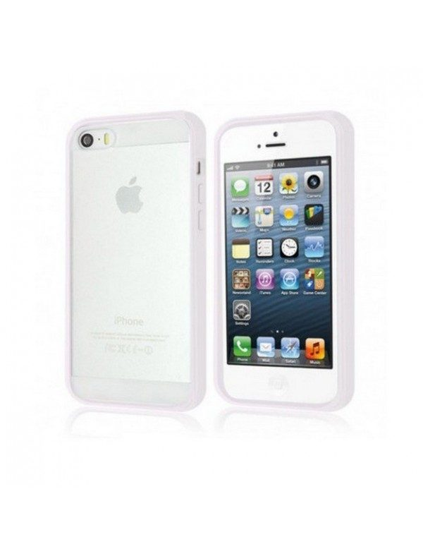 Coque iPhone 4/4S en silicone Blanc