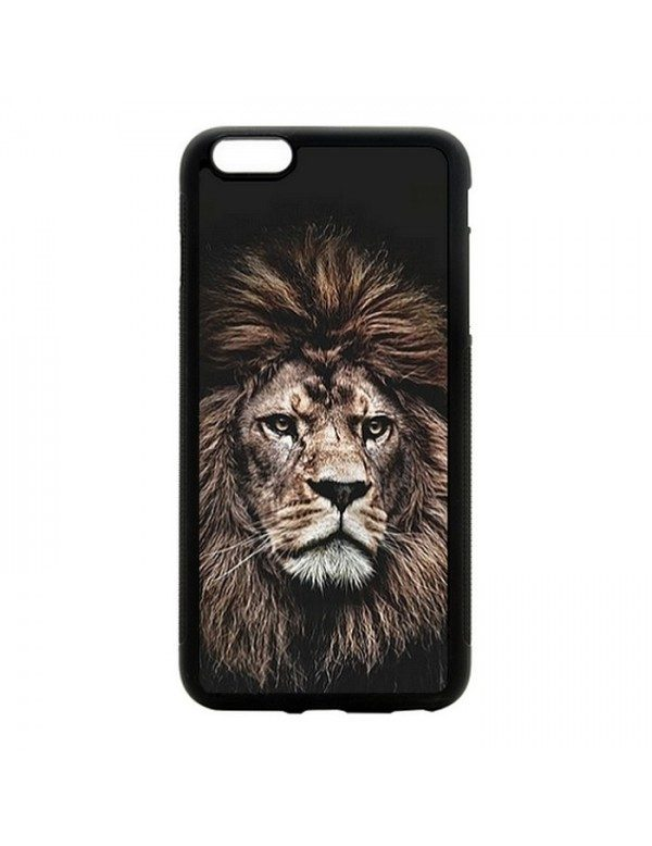 Coque rigide iPhone 4/4S - The king lion