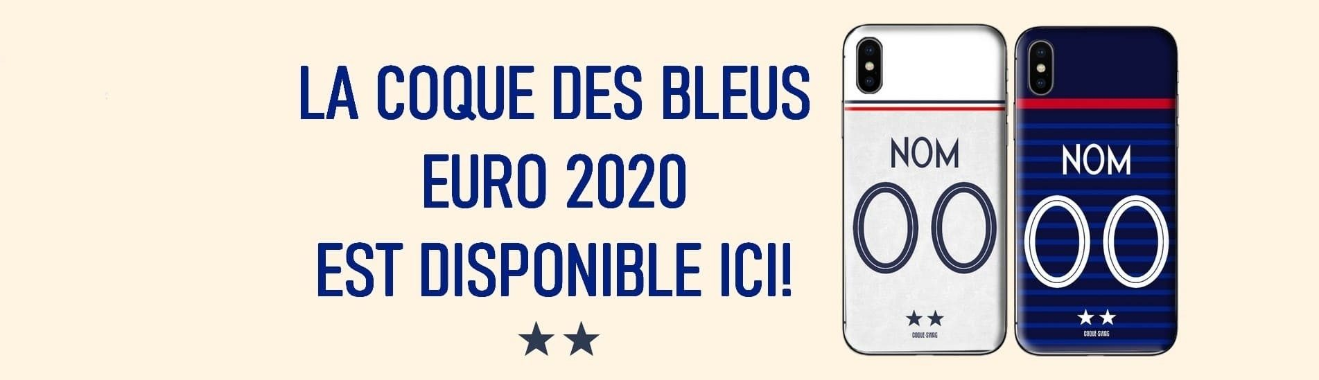 Coque de Protection France Euro 2020